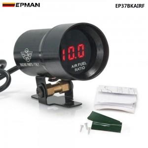 EPMAN 37mm - Compact Micro Digital Smoked Lens AIR / FUEL RAITO GAUGE Gauge Auto gauge/meter Black,Purple EP37BKAIRF