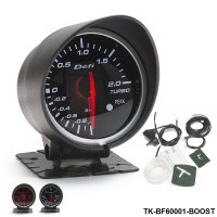 BF 60mm Boost Gauge High Quality Turbo Gauge with Red & White Light For Audi TT S3 A3 03-06 Seat Leon TK-BF60001-BOOST