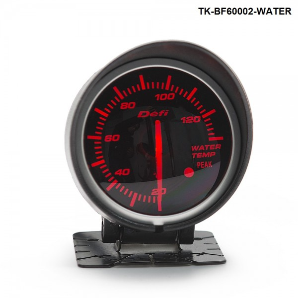 BF 60mm LED Water Temp Temprature Gauge Auto Car Motor Gauge with Red & White Light TK-BF60002-WATER