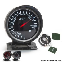 BF 60mm LED AIR/FUEL RATIO Gauge High Quality Auto Car Motor Gauge with Red & White Light TK-BF60007-AIRFUEL