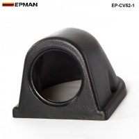 1 GAUGE TRIPLE GAUGE PANEL 52MM HOLDER COVER (1pcs-52mm black ) EP-CV52-1