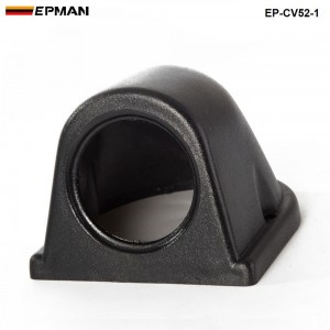 1 GAUGE TRIPLE GAUGE PANEL 52MM HOLDER COVER (1pcs-52mm black ) EP-CV52-1