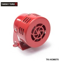 Tansky - New 12V Motor Driven Red Air Raid Siren Horn Alarm Horn Car Truck TK-HOM070