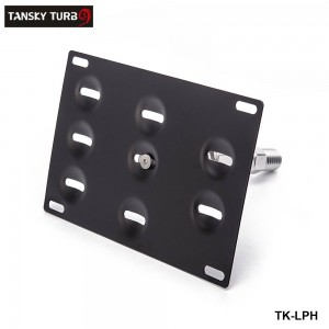 TANSKY - Front Bumper Tow Hook License Plate Mount Bracket Holder For BMW For Toyota For Honda For VW For Nissan TK-LPH