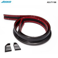 ADDCO 1.5M Roll 45mm  Universal Carbon Fiber car Rear Carbon Spoiler for Honda BMW Audi  ADJT1188TW