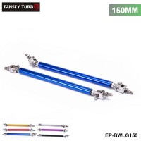 TANSKY - Universal 2Pcs/SET 150mm Adjustable Front/Rear Wind Splitter Frame Bumper Protector Rod Support EP-BWLG150