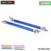TANSKY -2Pcs/SET 200mm Adjustable Front Bumper Lip Splitter Strut Rod Tie Support Bar For Ford EP-BWLG200
