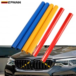 EPMAN FRONT GRILLE TRIM STRIPS PIPE FOR BMW F10 F30 F32 1 2 3 4 5 6 7SERIES SPORT STYLE EPBHGF20/EPBHGF10