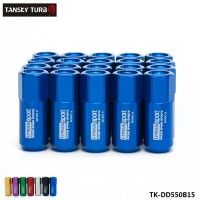 TANSKY -20pc M14X1.5 60MM Extende Forged Aluminum Tuner Racing Lug Nut For Wheels Rims TK-DD550B15