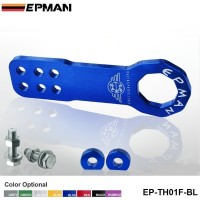 EPMAN Universal All Model Car Trailer Hook Aluminum Tow hook Towing Racing Front EP-TH01F