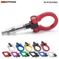 EPMAN Japan Model Car Auto Trailer Tow Hook Ring Eye Front Rear Aluminum For Honda FIT 04 EP-RTHLPH003