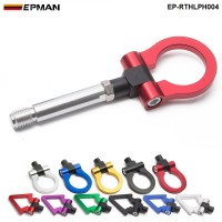 EPMAN  Japan Model Car Auto Trailer Tow Hook Ring Eye Towing Front Rear Aluminum For Honda FIT 08 EP-RTHLPH004