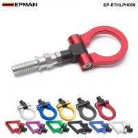 EPMAN Racing Eudm Model Car Auto Trailer Hook Ring Eye Tow Towing Front Rear Aluminum For European Car EP-RTHLPH009
