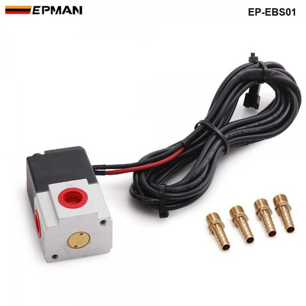 Auto Turbo Kit 3Ports E-Boost Control Solenoid Kit For Electronic Boost Controller EP-EBS01