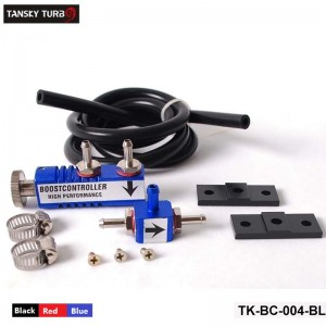 Boost Controller Turbo Turbocharger with 1meter hose( black,red,blue)  TK-BC-004