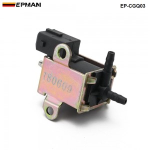 Tansky - 3 Way Electric Change Over Valve - Vacuum Solenoid for ElectrIcal Diesel Blow off valve EP-CGQ03