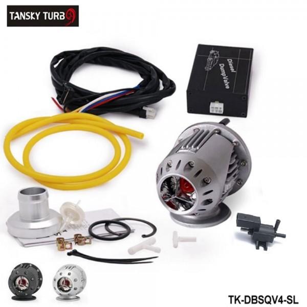 Tansky -ElectrIcal Diesel SSQV4 SQV4 Blow Off Valve/Diesel Dump Valve SQV KIT (Black,Silver) TK-DBSQV4