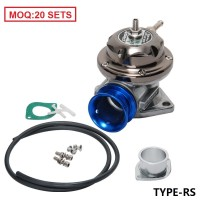 (MOQ : 20 SETS)  Universal Type-RS Turbo Blow off Valve Adjustable 25psi - Blue BOV TYPE-RS