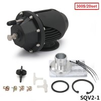 Tansky - 20Set/Carton  Adjustable Blow off value SQV2 BOV (black) Original color box and Logo (TK-SQV2-1)