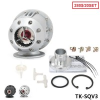 TANSKY - 20SET/CARTON BLOW OFF VALVE / SQV3 /TURBO BOV (Silver,Black) TK-SQV3