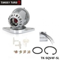Blow Off Valve SQV4 with Subaru special Flang (Silver/black,replicate) TK-SQV4F