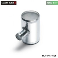 "TANSKY -Universal BOV T-pipe 70mm 2.75"" outlet 25mm Blow Off Valve T Joint Adaptor TK-04FP70T25"