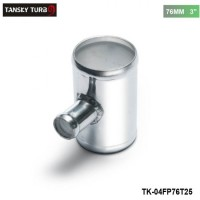 "TANSKY -Universal BOV T-pipe 76mm 3"" outlet 25mm Blow Off Valve T Joint Adaptor TK-04FP76T25"