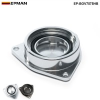EPMANSSQV Silver/Black SQV Adaptor BOV Flange Adapte Blow Off Valve For Hyundai Genesis 2.0T Turbo 08+ EP-BOV7575HB