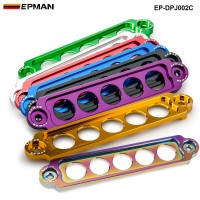 EPMAN RACING ALUMINUM BATTERY TIE DOWN FOR HONDA Civic SI 02-05 NEW GUNMETAL Replace for PASSWORD:JDM STYLE EP-DPJ002C