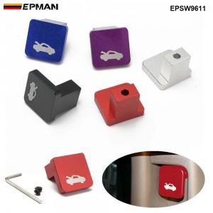 EPMAN Billet Aluminium Hood Release Pull Latch Handle Opener Repair Kit Auto Accessories Engine Cover Lock For Element Ridgeline For Honda Civic 96-11 EPSW9611