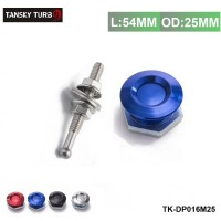 "TANSKY  -1"" Universal Aluminum Quick Latch Push Button Billet Hood Pins Lock Clip For VW Golf  TK-DP016M25"
