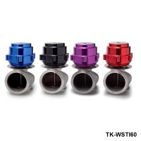 TANSKY - 60MM Universal External Racing Billet Aluminum Turbo Wastegate For Honda Subaru (Color:Blue/black/Red/Purple)TK-WSTIAL60