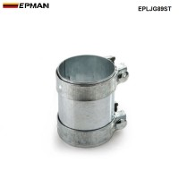 "EPMAN - 3.5""Exhaust Connector Coupler 304 SS Front Adapter Pipe Tube Joiner 89mm EPLJG89ST"