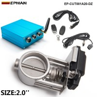 "EPMAN - 2""/51mm Vacuum Exhaust Cutout Electric Control Valve Kit With Vacuum Pump  EP-CUT001A20-DZ"
