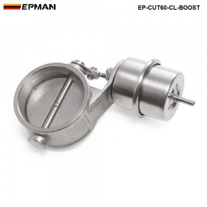 Tansky NEW Boost Activated Exhaust Cutout / Dump 60MM Close Style Pressure: about 1 BAR TK-CUT60-CL-BOOST