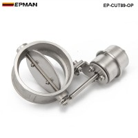 EPMAN- H Q NEW Vacuum Activated Exhaust Cutout / Dump 89MM OPEN Style Pressure: about 1 BAR  EP-CUT89-OP