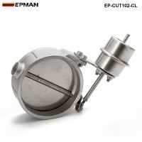 EPMAN -H Q NEW Vacuum Activated Exhaust Cutout / Dump 102MM Close Style Pressure: about 1 BAR EP-CUT102-CL
