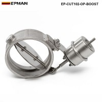 EPMAN- H Q NEW Boost Activated Exhaust Cutout / Dump 102MM Open Style Pressure: about 1 BAR EP-CUT102-OP-BOOST