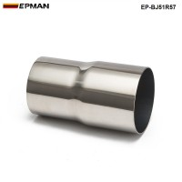 "EPMAN -OD:2"" 2.25'' 2.75'' 3'' 3.5'' Universal Exhaust Pipe to Component Adapter Reducer EP-BJ"