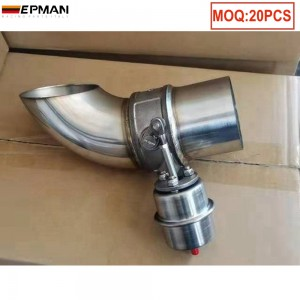 Electric Exhaust Valve Muffler Cutout Pipe Valve with Remote Control EPCUTPP