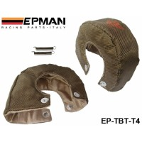 EPMAN RACING- Universal Titanium T4 Turbo Heat Shield Blanket Performance Race Drag Rally Cars EP-TBT-T4