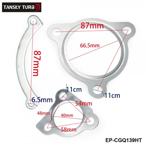 TANSKY - KKK K03 Turbocharger Turbo Charger Complete Gasket