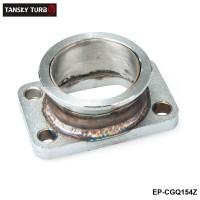 "TANSKY - Steel Adaptor for T3 4Bolt to 2.5"" V-Band Flange fits For Toyota Acura Honda BMW EP-CGQ154Z"