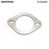"EPMAN -Universal Exhaust Flange 2.5"" Catback Exhaust 2 Blots Downpipe Muffler Cat Weldable EP-CGQ205H"