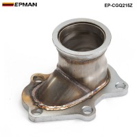 "EPMAN -TD04 5 Bolt Turbo Downpipe Flange to 2.5"" V Band Conversion Adaptor For Subaru EP-CGQ215Z"