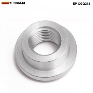 EPMAN -1PC Aluminum Weld Bungs Fit 1/4 female pipe thread Of tank project  EP-CGQ218