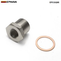 EPMAN Exhaust O2 Oxygen Sensor Spacer Reducer Adapter M18 x 1.5mm to M12 x 1.25mm EPCGQ95