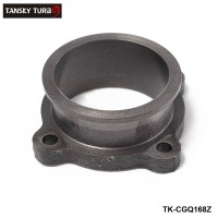 "TANSKY -2.5"" to 2.5"" V-Band Turbo Downpipe Exhaust Flange Adapter 4 Bolts TK-CGQ168Z"