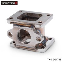 TANSKY -T25 to T25, T2 to T2  EXHAUST ADAPTER FLANGE EXTERNAL WASTEGATE FLANGE 38mm TK-CGQ174Z
