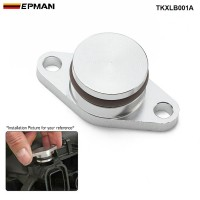 EPMAN 1 x 22MM Aluminium Swirl Flap Blanking Replacement Bungs For BMW 20MM 320 330 520 530 525 535 730D Intake Manifold TKXLB001A